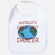 World's Greatest Dancer Gift Bib