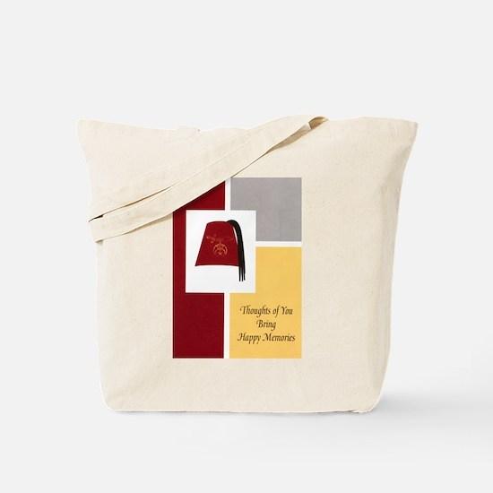 Shriner Greeting Tote Bag