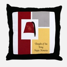 Shriner Greeting Throw Pillow