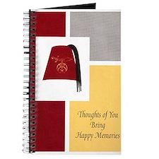 Shriner Greeting Journal