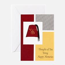 Shriner Greeting Greeting Card