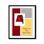Shriner Greeting Framed Panel Print