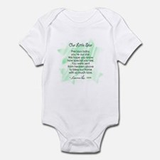 OUR LITTLE STAR POEM (Unisex) Infant Bodysuit