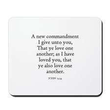 JOHN  13:34 Mousepad