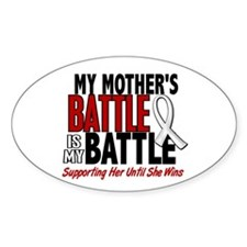 My Battle Too 1 PEARL WHITE (Mother) Decal
