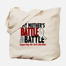 My Battle Too 1 PEARL WHITE (Mother) Tote Bag