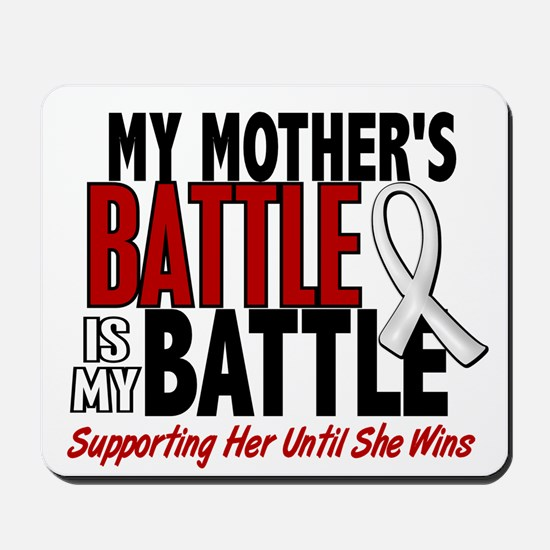 My Battle Too 1 PEARL WHITE (Mother) Mousepad