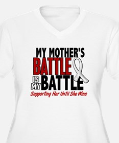 My Battle Too 1 PEARL WHITE (Mother) T-Shirt