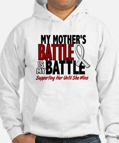 My Battle Too 1 PEARL WHITE (Mother) Hoodie