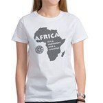 Africa Is A Continent Women's T-Shirt
