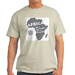 Africa Is A Continent Light T-Shirt