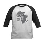 Africa Is A Continent Kids Baseball Jersey