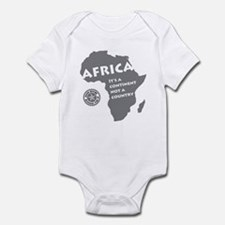 Africa Is A Continent Infant Bodysuit