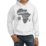 Africa Is A Continent Hooded Sweatshirt