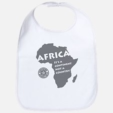 Africa Is A Continent Bib