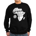 Africa Is A Continent Sweatshirt (dark)
