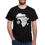 Africa Is A Continent Dark T-Shirt