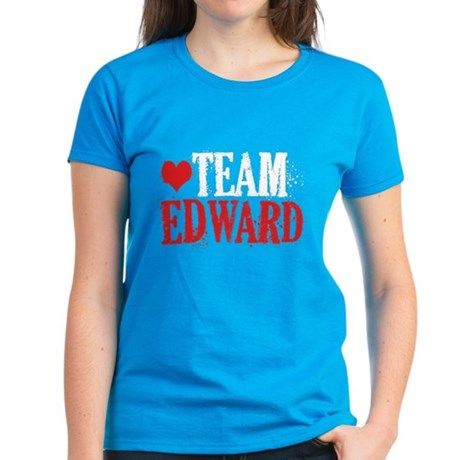 Women's Dark Twilight Team Edward T-Shirt