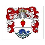 Brants Family Crest Small Poster