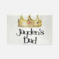Jayden's Dad Rectangle Magnet