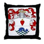 Brants Family Crest Throw Pillow