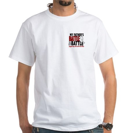 My Battle Too 1 PEARL WHITE (Father) White T-Shirt