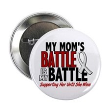 "My Battle Too 1 PEARL WHITE (Mom) 2.25"" Button"