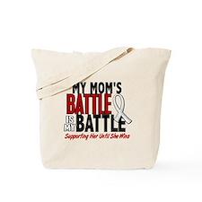 My Battle Too 1 PEARL WHITE (Mom) Tote Bag