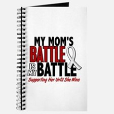 My Battle Too 1 PEARL WHITE (Mom) Journal