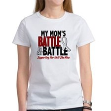 My Battle Too 1 PEARL WHITE (Mom) Tee