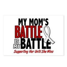 My Battle Too 1 PEARL WHITE (Mom) Postcards (Packa
