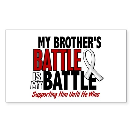 My Battle Too 1 PEARL WHITE (Brother) Sticker (Rec