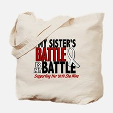 My Battle Too 1 PEARL WHITE (Sister) Tote Bag