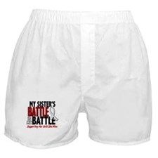 My Battle Too 1 PEARL WHITE (Sister) Boxer Shorts
