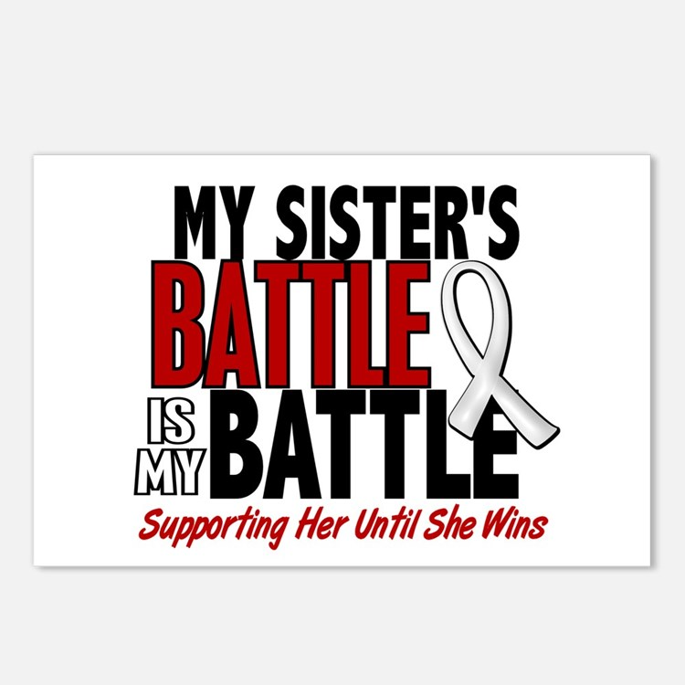 My Battle Too 1 PEARL WHITE (Sister) Postcards (Pa