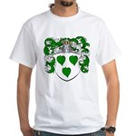 Brasser Family Crest White T-Shirt