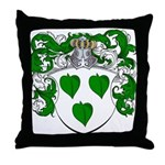 Brasser Family Crest Throw Pillow