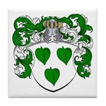 Brasser Family Crest Tile Coaster