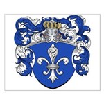 Broers Family Crest Small Poster