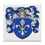 Broers Family Crest Tile Coaster