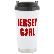JERSEY GIRL SHIRT Travel Coffee Mug