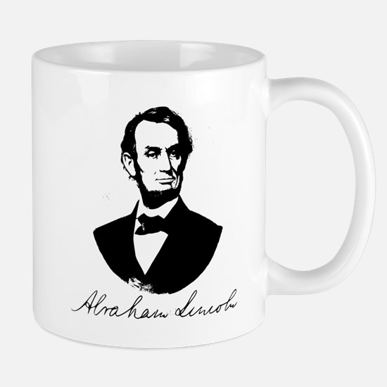 Abraham Lincoln Portrait Mug