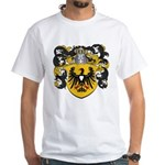 Brouwer Family Crest White T-Shirt