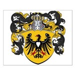 Brouwer Family Crest Small Poster