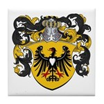 Brouwer Family Crest Tile Coaster