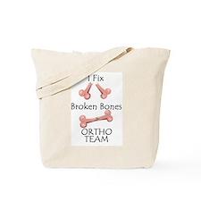 Broken Bone Team Tote Bag