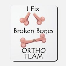 Broken Bone Team Mousepad