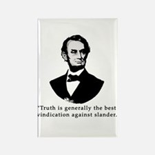 President Lincoln Truth Quote Rectangle Magnet