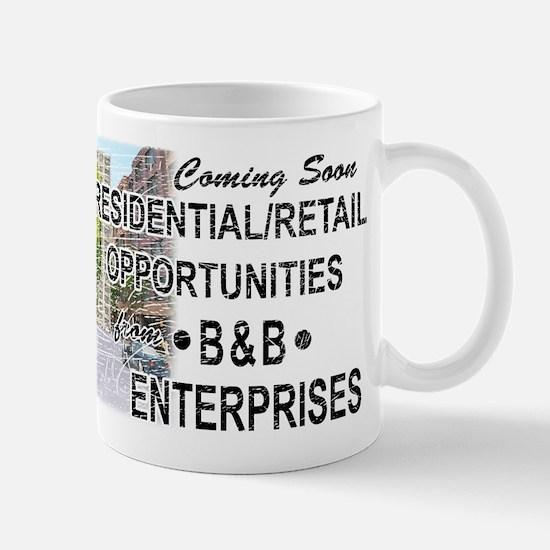 """The Wire """"B & B Enterprises"""" Mug"""