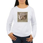 Stone Homer Pigeons Women's Long Sleeve T-Shirt